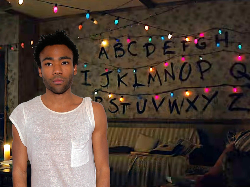 'Stranger Things' Theme Mixed With Childish Gambino Is Scary Good