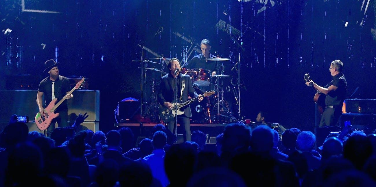 Eddie Vedder last grunge icon