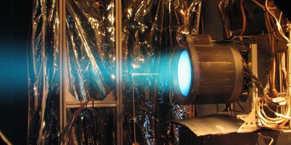 Ion engines are tested by NASA.