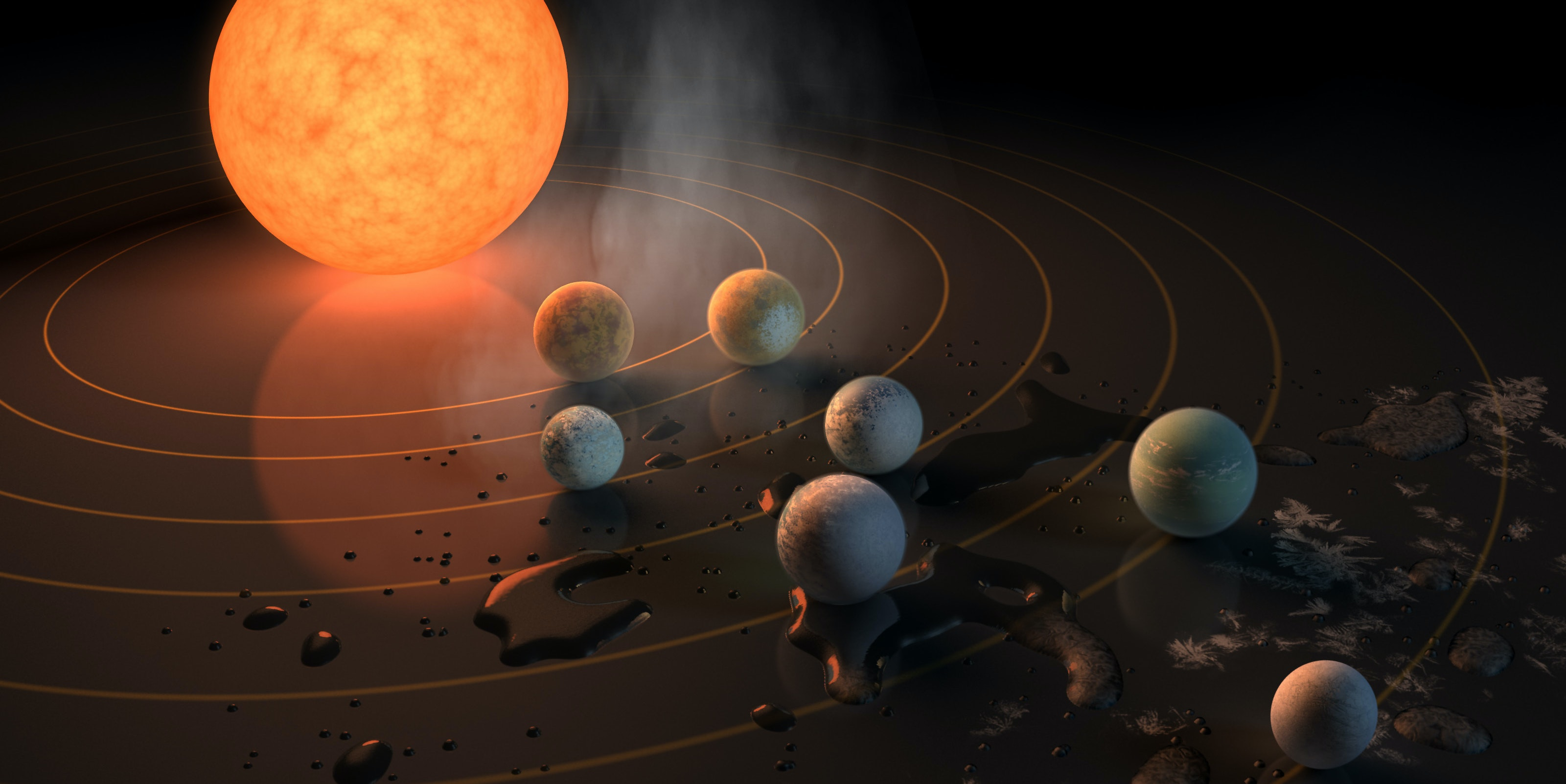 TRAPPIST-1 Might Be Home to Planet-Hopping Aliens