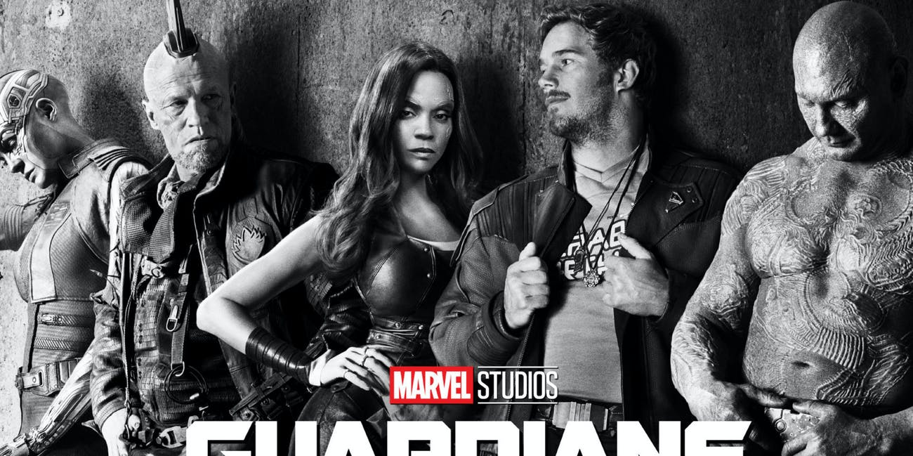 Poster for Guardians of the Galaxy vol. 2 for Marvel Studios