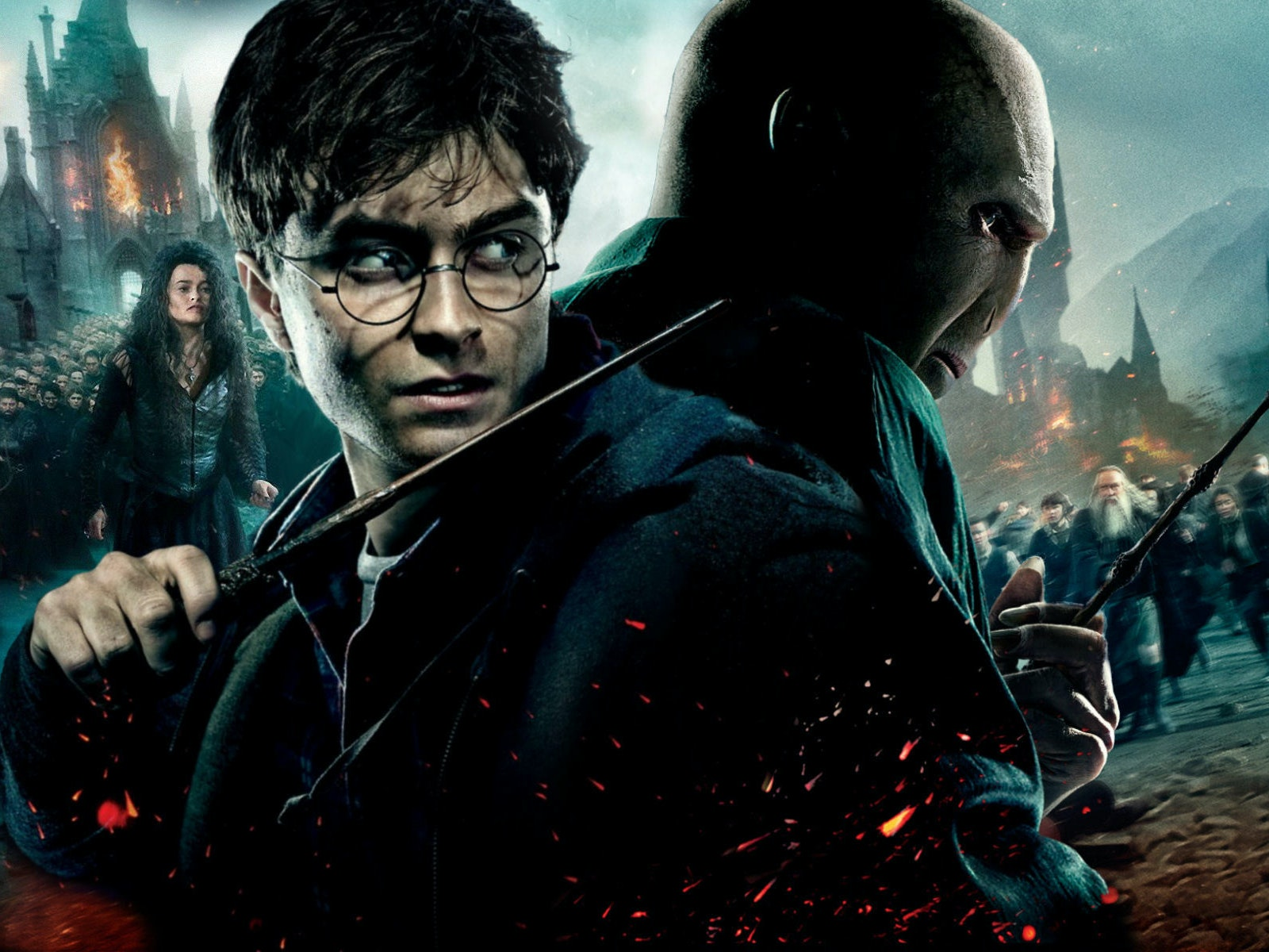 Watch Harry Potter Grow Up and Defeat Voldemort in Minutes