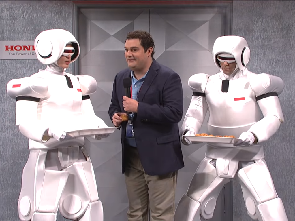 Honda's ASIMO Robots Are No Match for Leslie Jones on 'SNL'