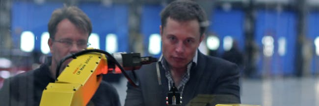 Elon Musk Robot A.I. Artificial Intelligence Machine Learning Roboschool OpenAI Gym