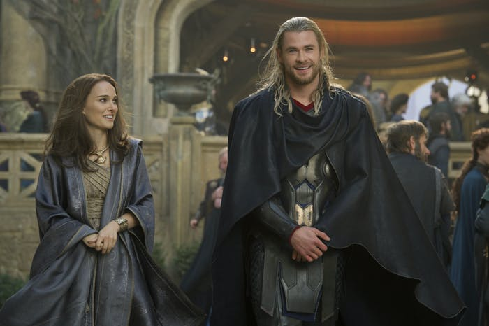 Jane Foster (Natalie Portman) and Thor (Chris Hemsworth) were good together while it lasted.