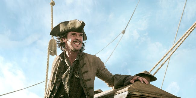 Toby Schmitz as Jack Rackham survives 'Black Sails'