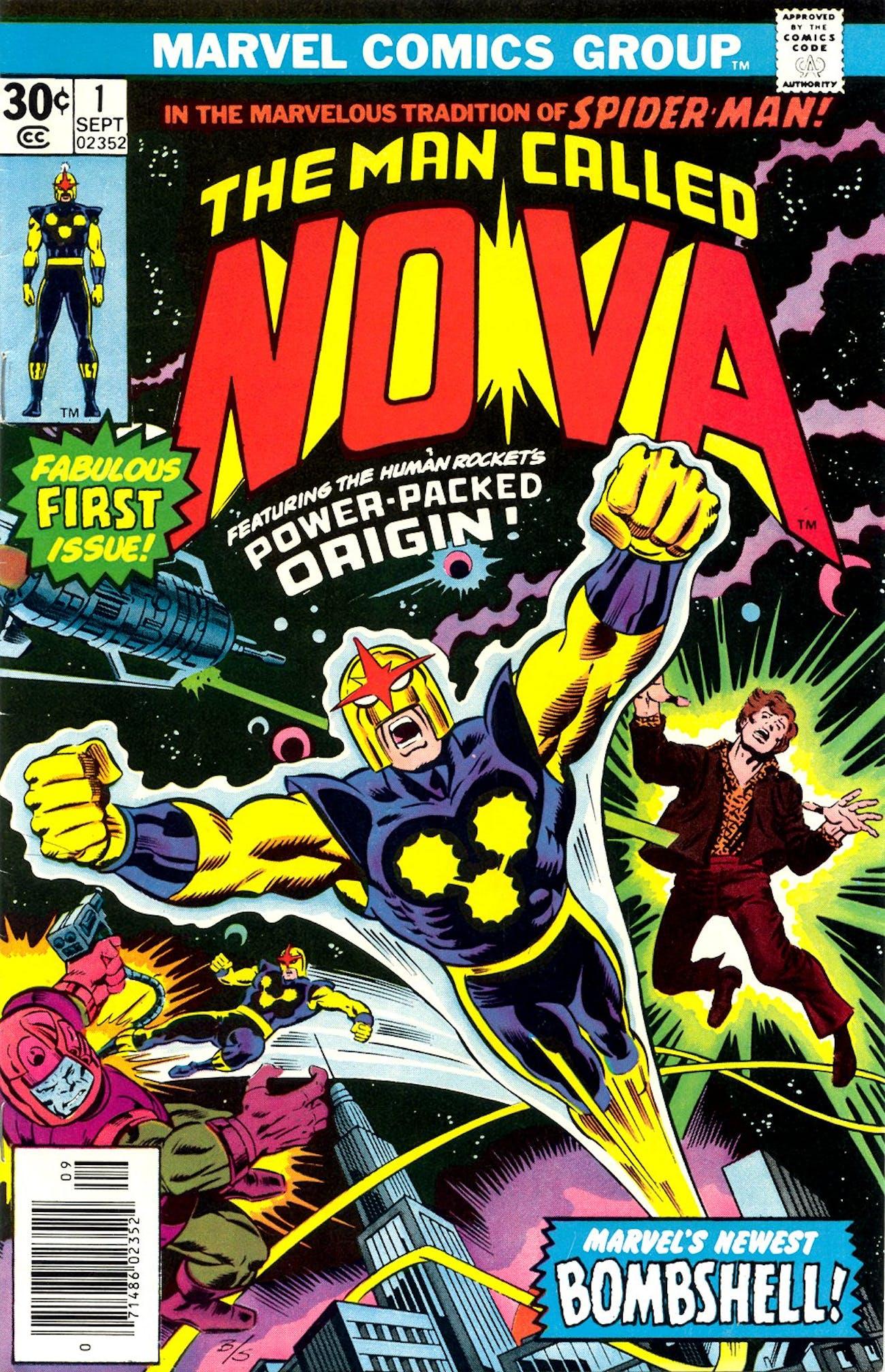 Marvel Nova Avengers Endgame