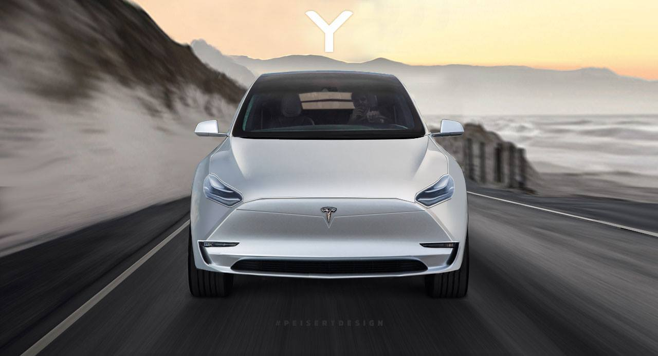 tesla model y: elon musk's news announcement leads to suv