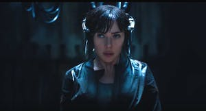 Scarlett Johansson as The Major in 'Ghost in The Shell'