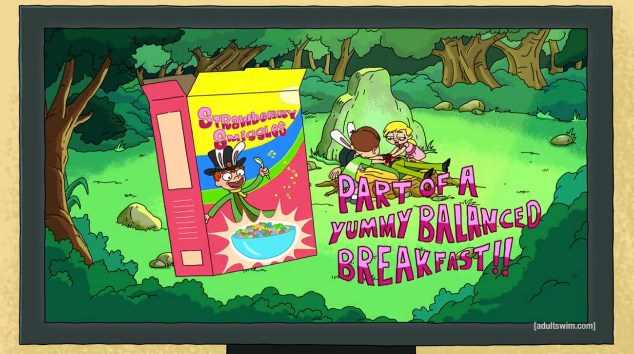 Strawberry Smiggles is peak 'Rick and Morty' terror at its most novel.