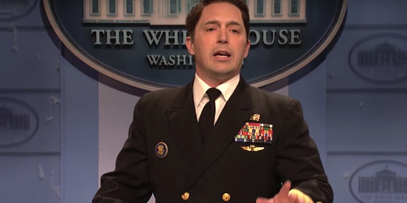 SNL Ronny Jackson White House press conference Trump's health