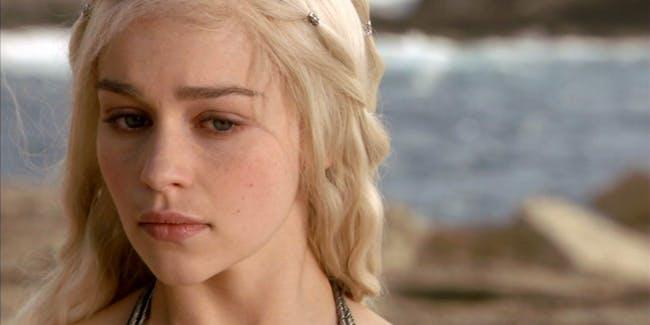 Emilia Clarke as Dany Targaryen in HBO's 'Game of Thrones'