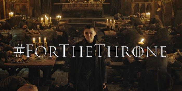 game of thrones arya stark maisie williams iron throne