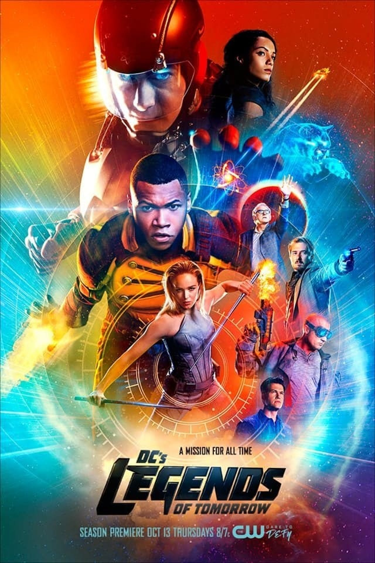 Season 2 Poster of CW Legends of Tomorrow which feature Vixen and Citizen Steel