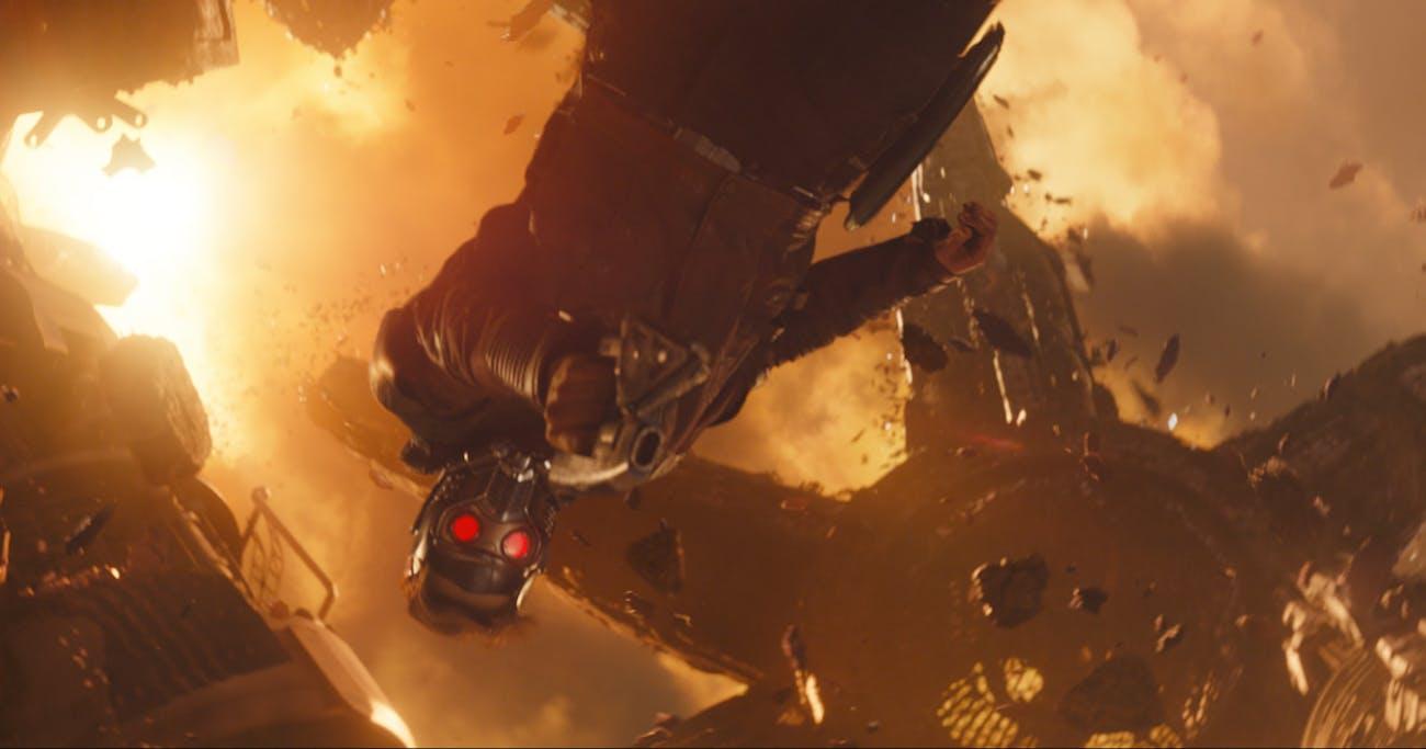 'Avengers: Infinity War' Star-Lord