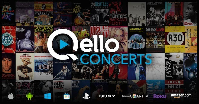 Image result for qello concerts