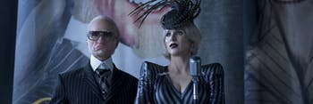Neil Patrick Harris and Judy Punch in 'A Series of Unfortunate Events'