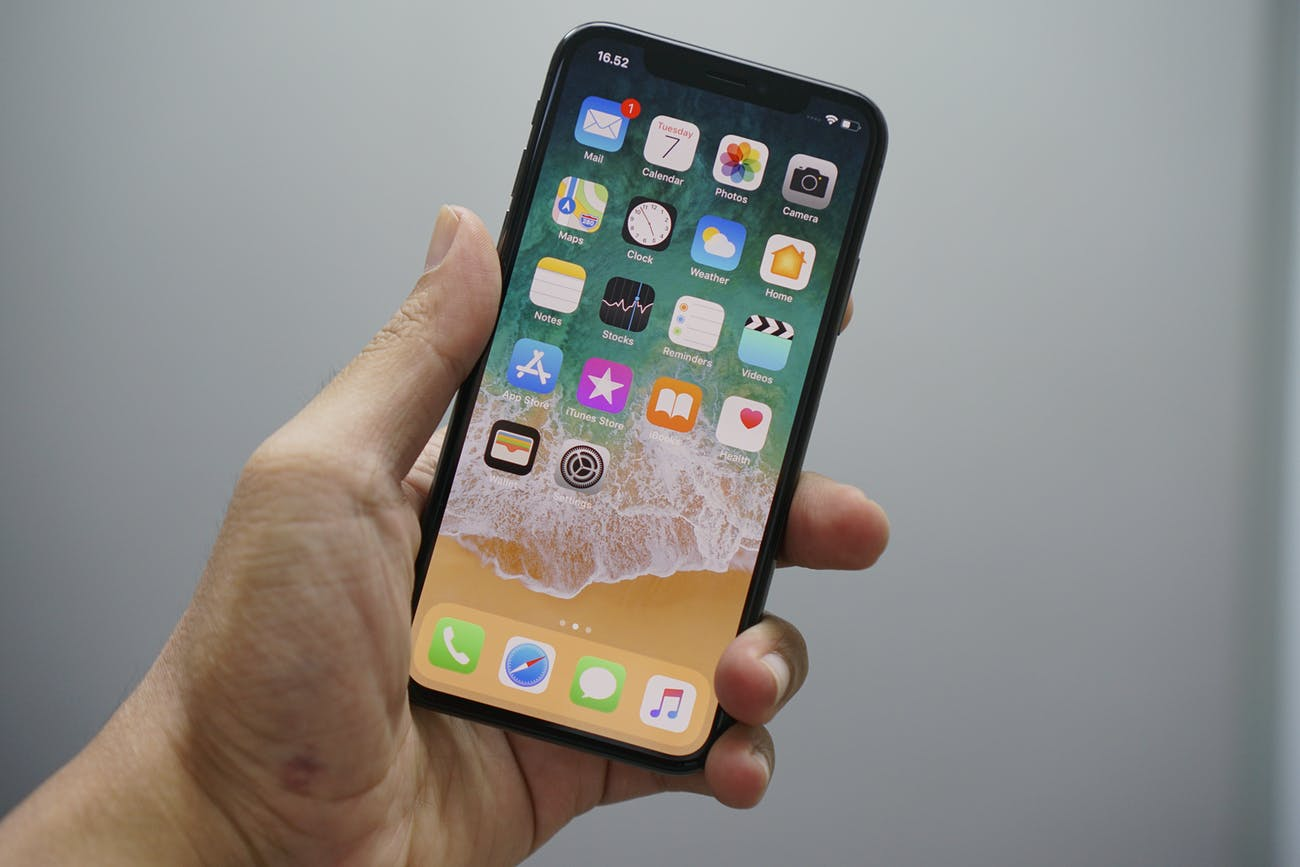 The iPhone X: more screen in the same size phone as the iPhone 6.