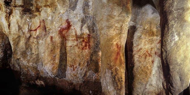 Neanderthal painting