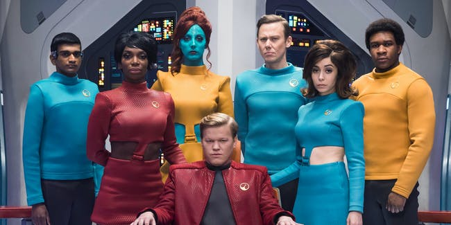In Season 4, 'Black Mirror' has tackled 'Star Trek'.