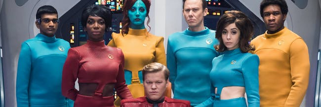 In Season 4, 'Black Mirror' has tackled 'Star Trek'.