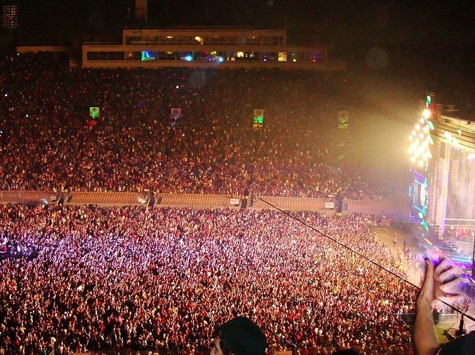 Attendees at the 2010 EDC in Los Angeles, California.