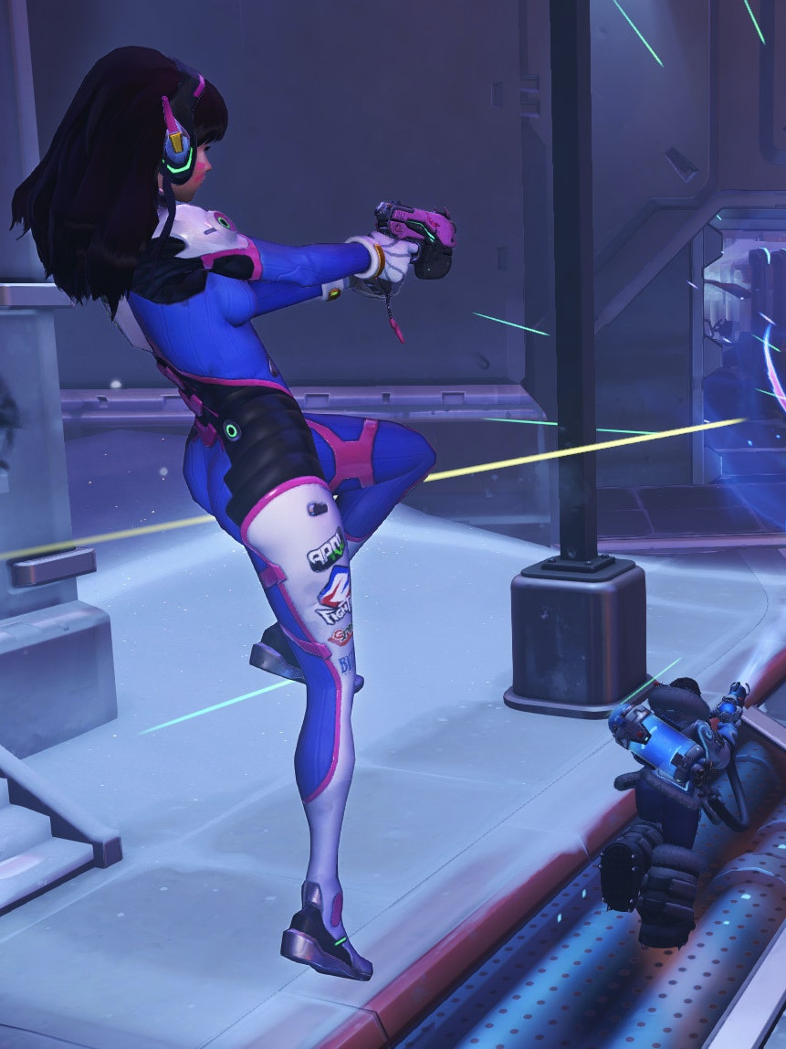 Overwatch Patch Includes D Va Fix Competitive Mode And