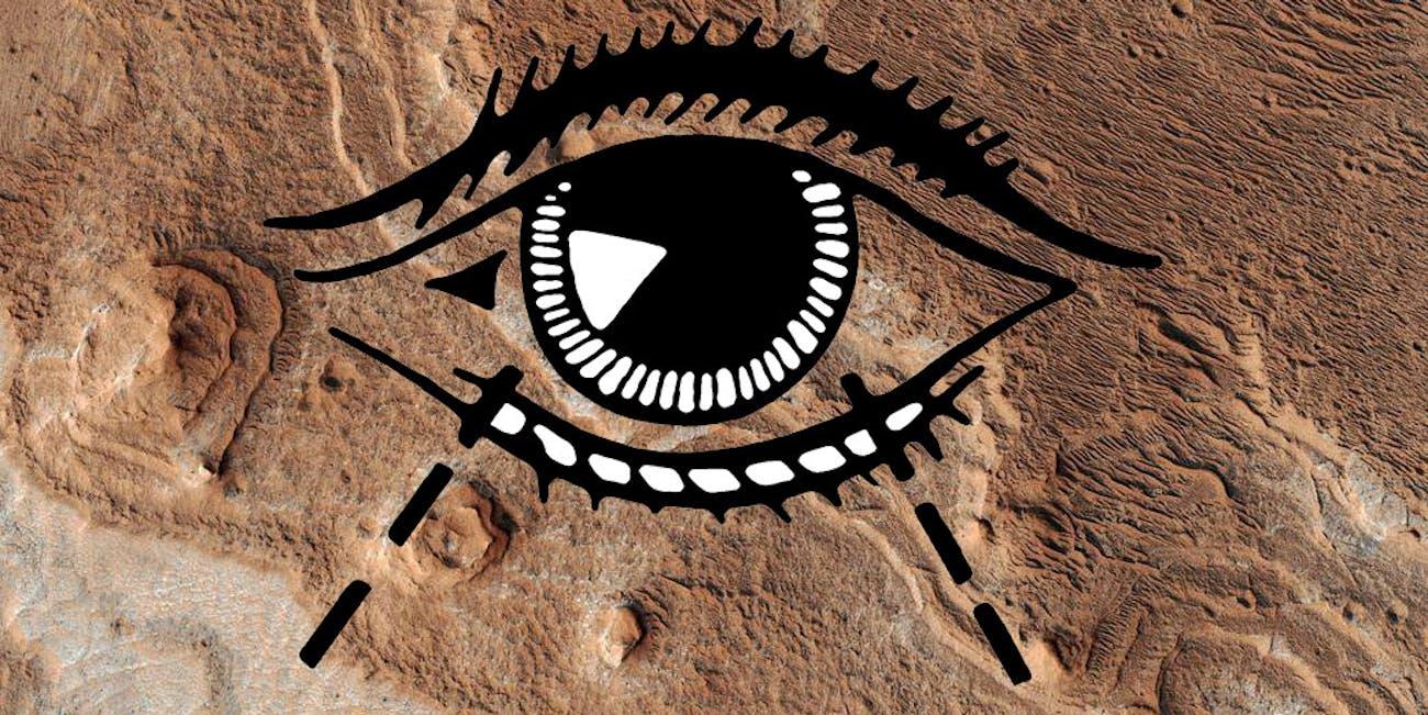 Eye sight on Mars