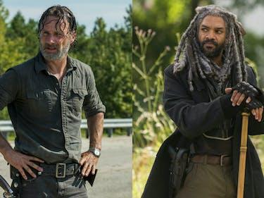 Rick and Ezekiel Team Up Against Negan in 'Walking Dead'