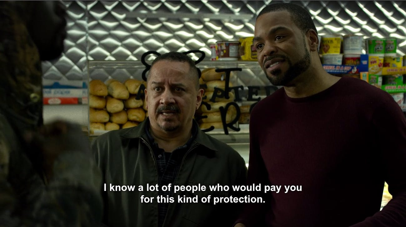 Netflix Luke Cage Method Man