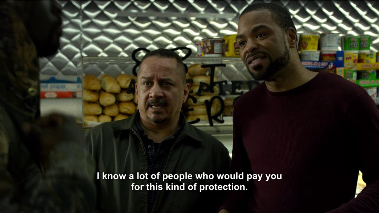 Netflix Luke Cage Method Man