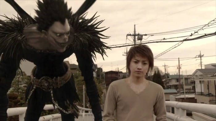 Ryuk as he appears in the Japanese live-action 'Death Note'