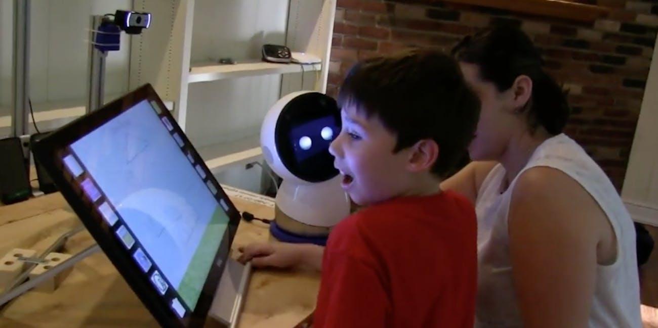 robot robotics child ASD autism
