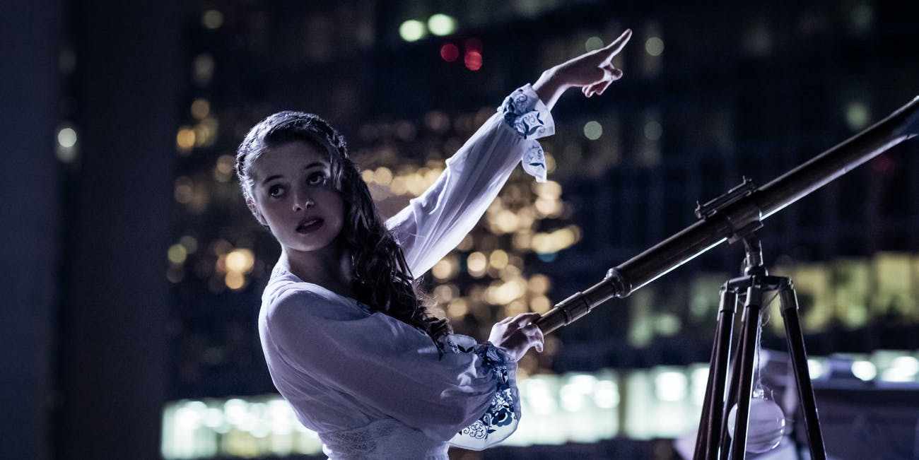 zorya polunochnaya and Shadow have a less sexy scene in 'American Gods' episode 3, 'Head Full of Snow'
