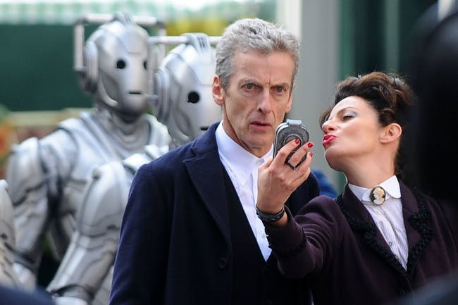 doctor who peter capaldi missy michelle gomez