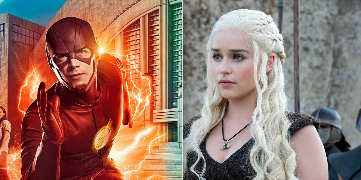 'The Flash' and 'Game of Thrones' are two of the most popular shows in the world