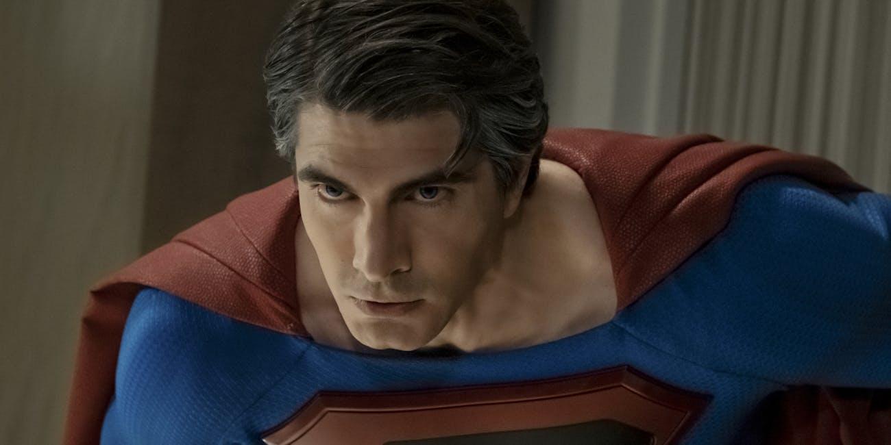 Superman Brandon Routh Crisis on Infinite Earths