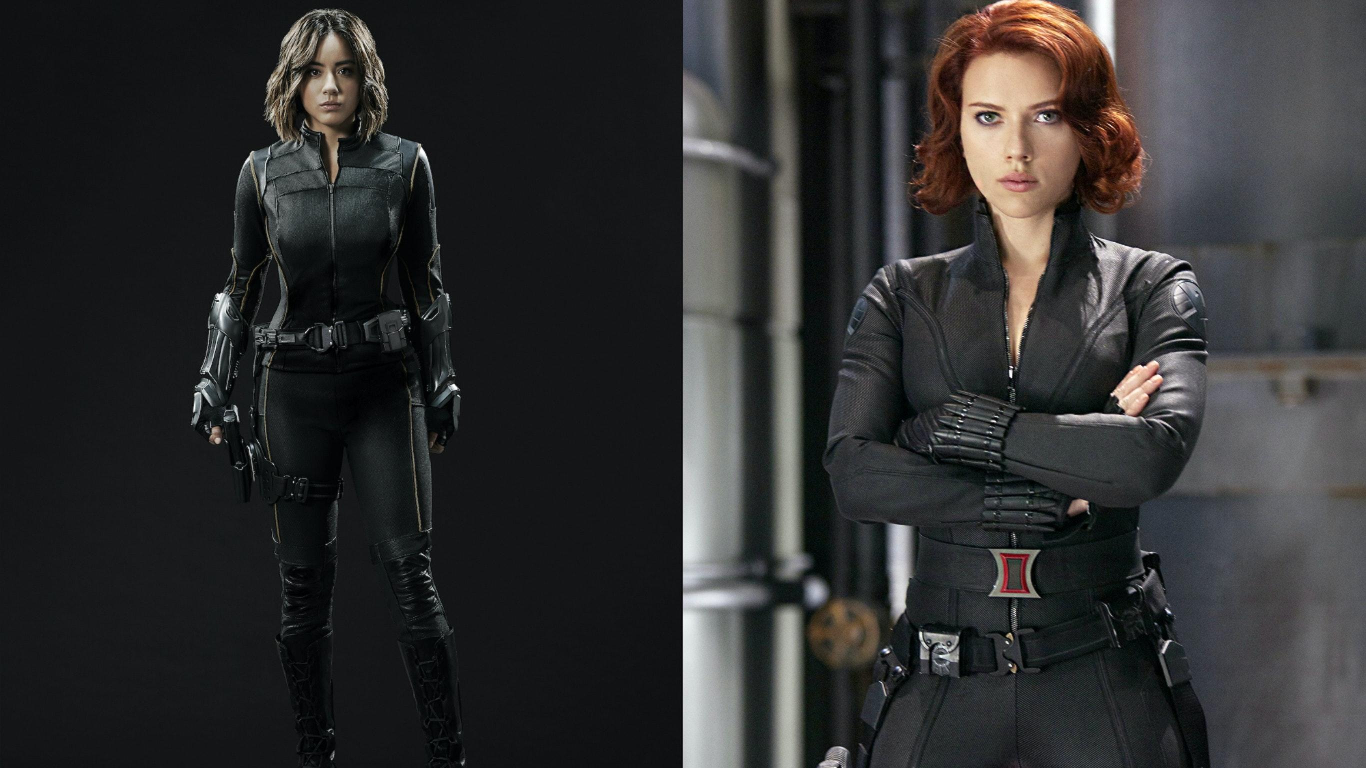 Daisy Black Widow costume Agents of SHIELD Avengers