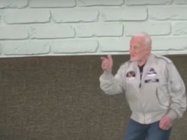 Buzz Aldrin's Professional Life as a Hologram is Thriving