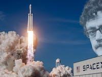 Kurt Vonnegut basically saw this sperm launch coming.