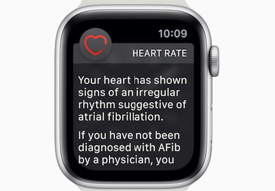 Apple Watch fib notification