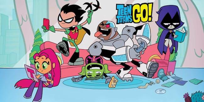 Teen Titans GO! from Cartoon Network
