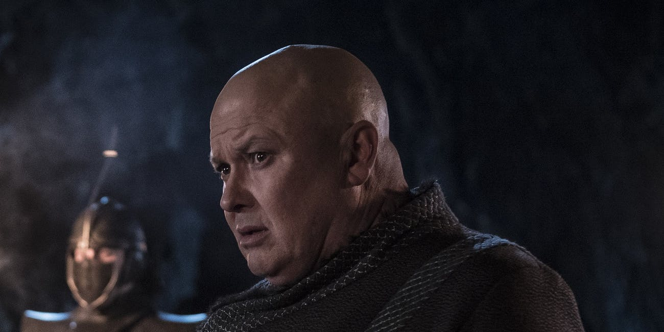 Varys game of thrones death reaction