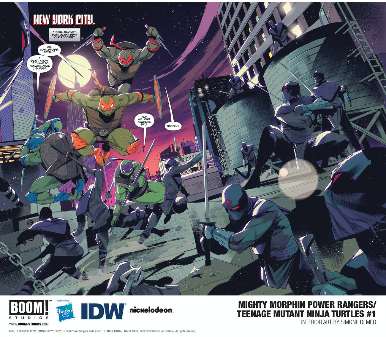 Power Rangers Ninja Turtles
