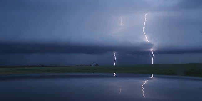 Lightning rocket launch