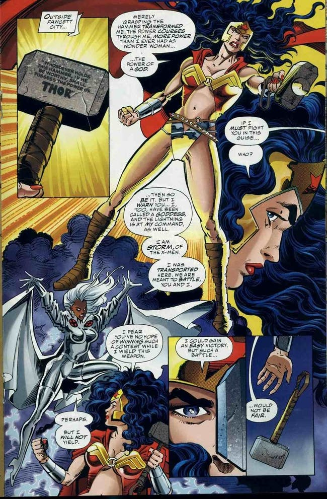 thor Wonder Woman