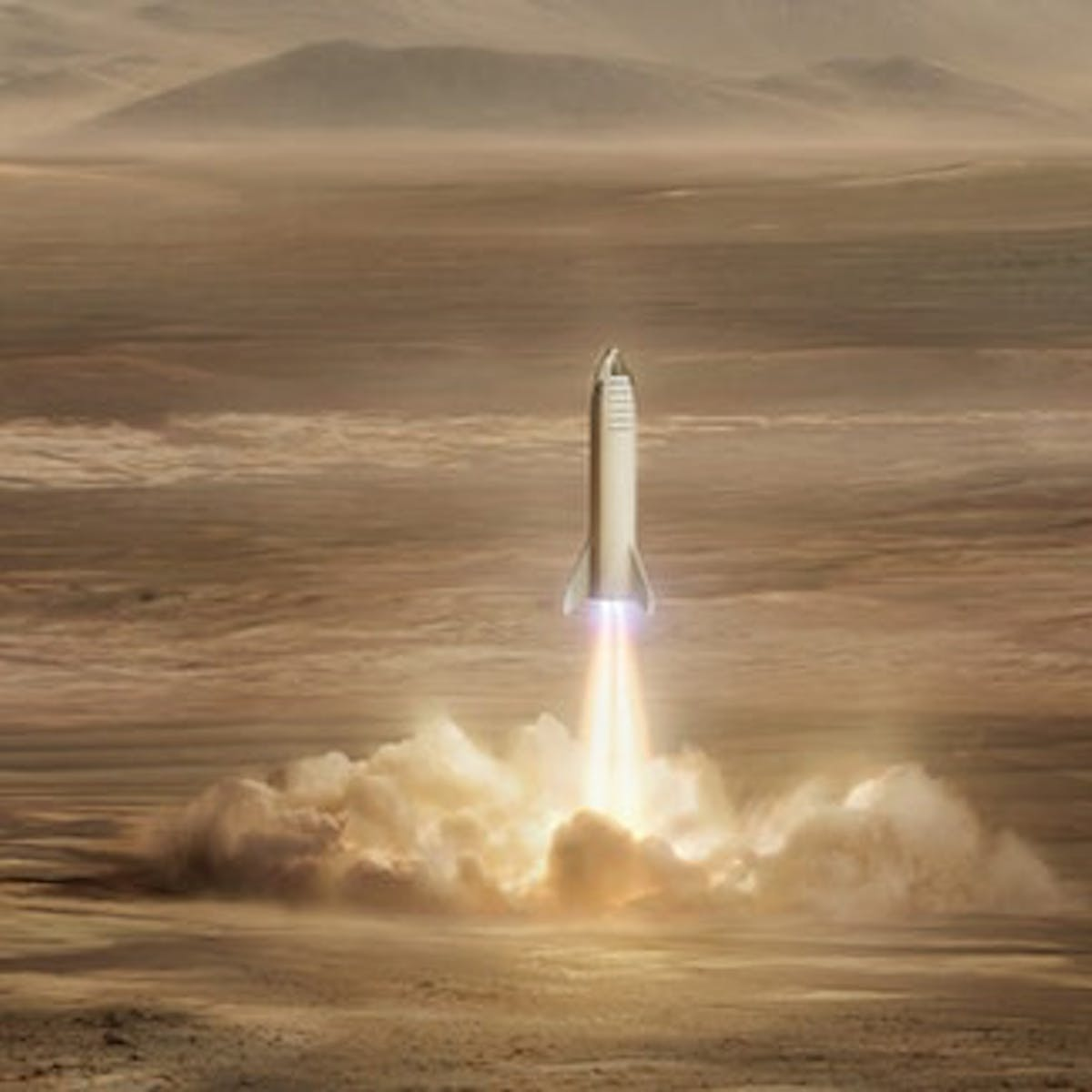 Musk Reads: SpaceX Explores Starship Mars Landing Sites