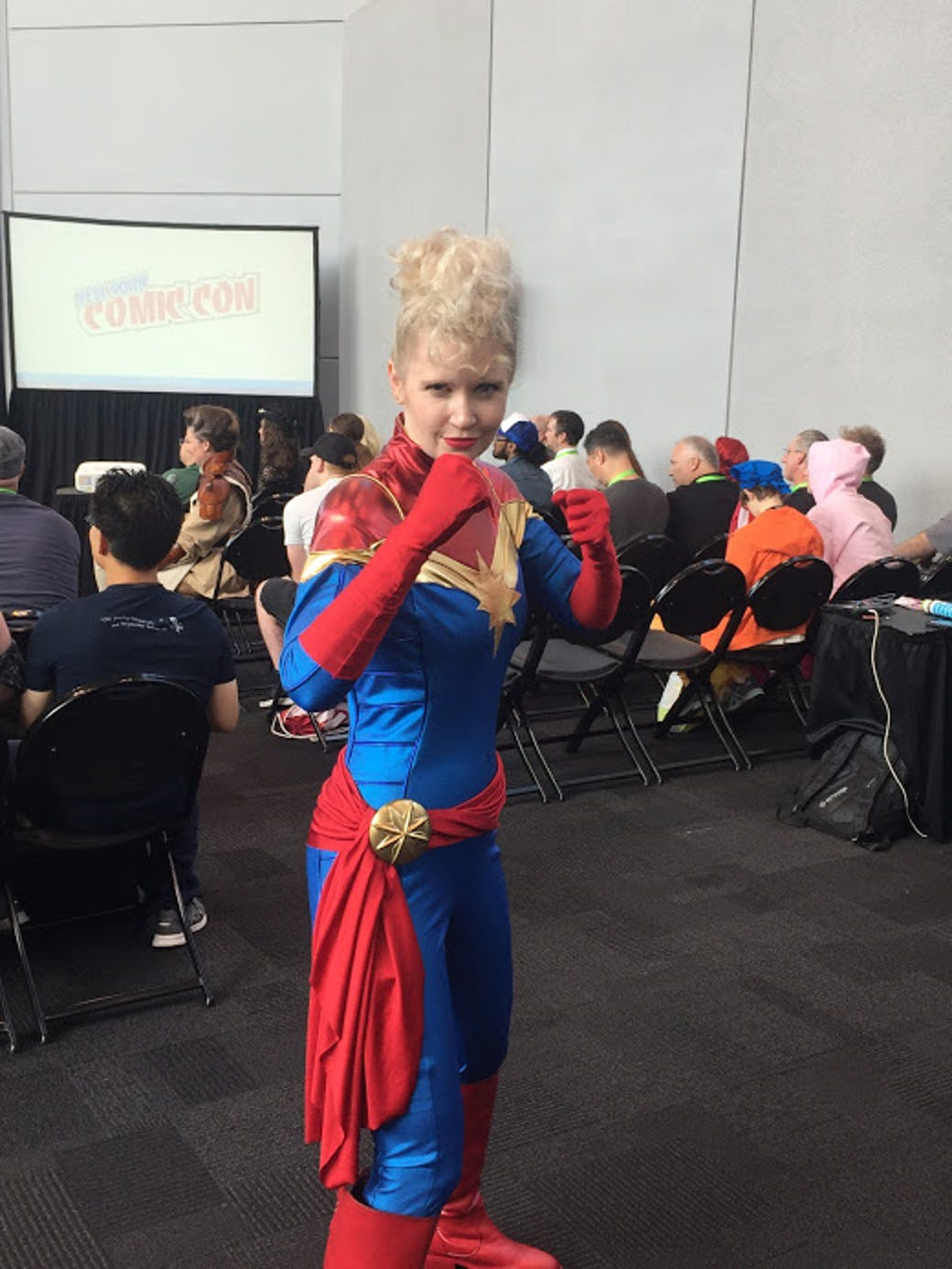 nycc cosplay captain marvel