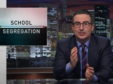 John Oliver Slams 'Devastating' School Segregation Policies