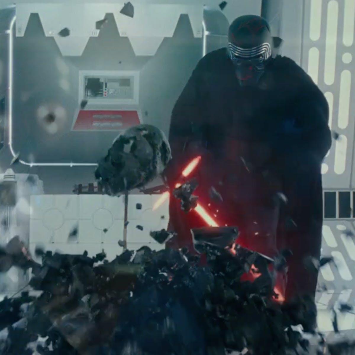 Rey and Kylo seem to destroy Vader's mask in final 'Star Wars 9' trailer
